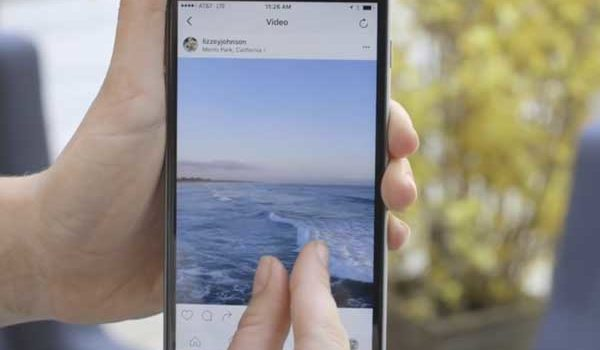 Did you know? Instagram lets you zoom in on videos and photos