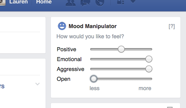How about choosing the mood you want?