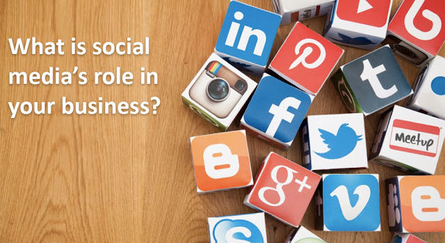 What is the role of social media in your business?