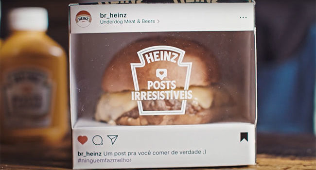 HEINZ: Instagram Posts You Can Eat [Marketing Campaign]