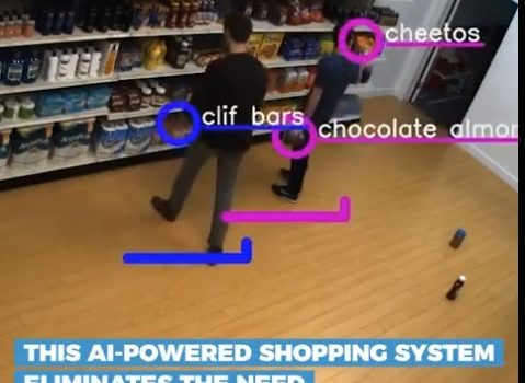 There are no checkout lines in this AI-powered store