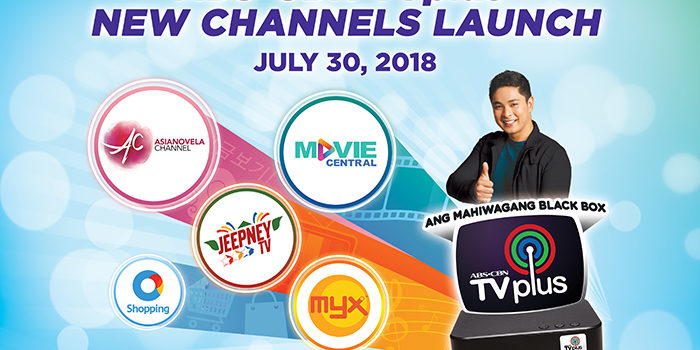 ABS-CBN TVplus: FREE NEW CABLE CHANNELS!