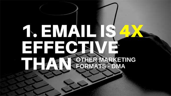 5 FACTS ABOUT EMAIL MARKETING THAT YOU PROBABLY DON'T KNOW